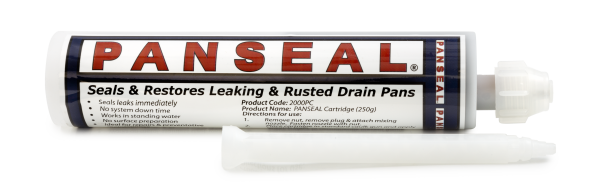 Leaking Drain Pan - How to Repair - Save Time & Money